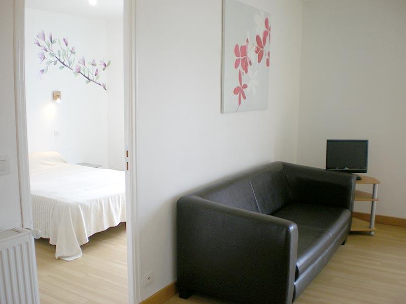Appartement de plain pied à 2 chambres